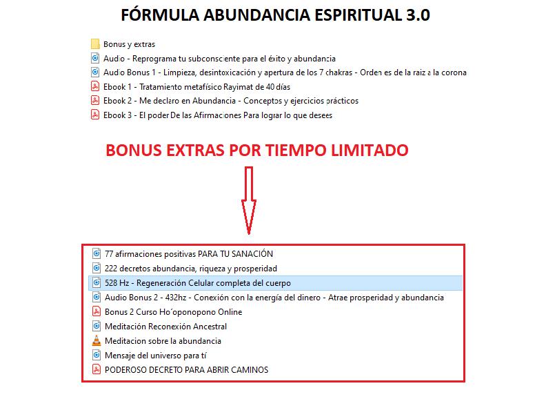 Fórmula Abundancia Espiritual 3.0 7